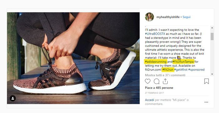Micro-influencer marketing: il caso Adidas Running