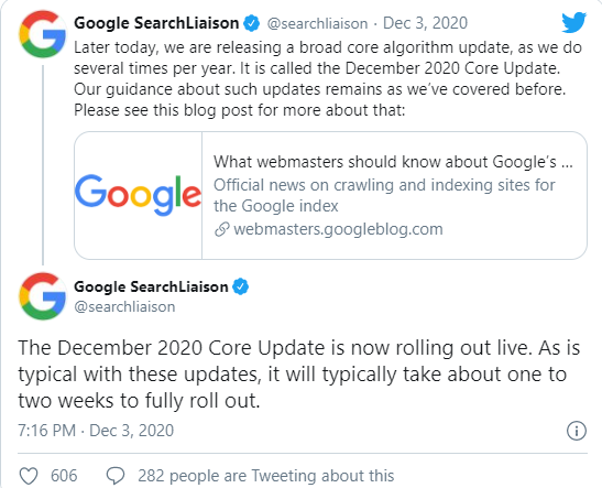 core-update-google-annuncio-Twitter